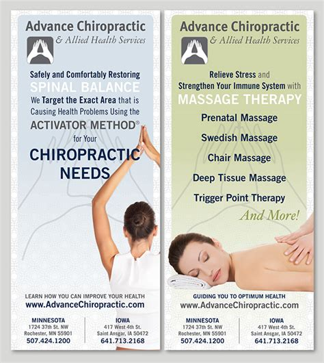chiropractic brochures template add to collection
