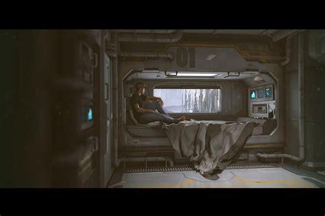 sci fi bedroom sci fi bedroom