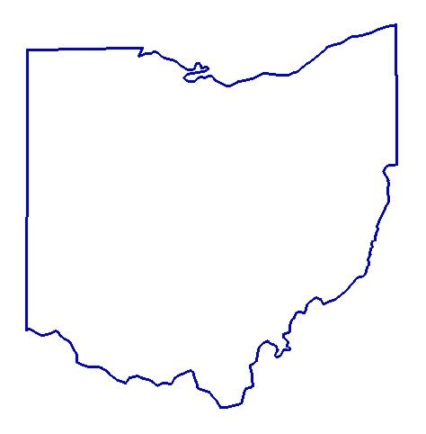 Outline Of Ohio Vector by State Outlines Clip Cliparts Co