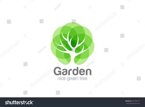 Tree Logo Abstract Design Vector Template Stock Vector 431794117 Shutterstock Green Tree Vector Logo Design Garden Concept Eco Icon Stock Vector Illustration Of Concept