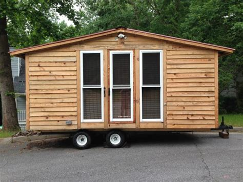 tiny house on slab tiny house cabin on wheels with many poplar cedar and pine natural edge slabs tiny house