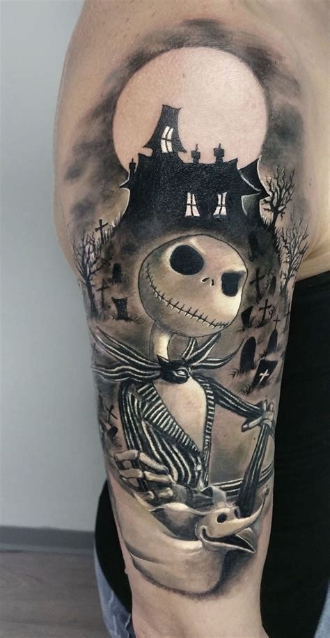 nightmare before christmas tattoo nightmare before by roberto at holy