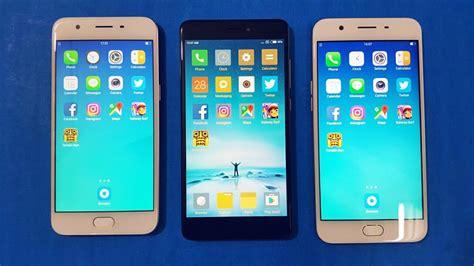 Samsung J7 Prime Vs Oppo A57 Oppo A57 Vs Redmi Note 4 Vs Oppo F1s Speedtest Comparison