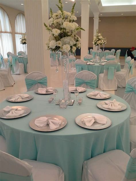 quinceanera themes tiffany blue 25 best ideas about tiffany blue centerpieces on