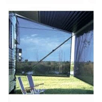 rv awning sun blocker awning sun block panel 10 w x 7 h ez zipblocker 701007