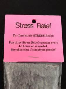 gag gift instant stress relief capsules novelty joke gag