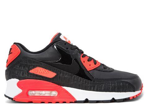 Nike Air Max 9 air max 90 anniversary quot black croc quot nike 725235 006 black black infrared white flight club