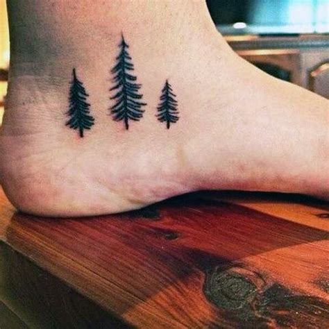 pine tree tattoo 70 pine tree ideas for wood in the wilderness