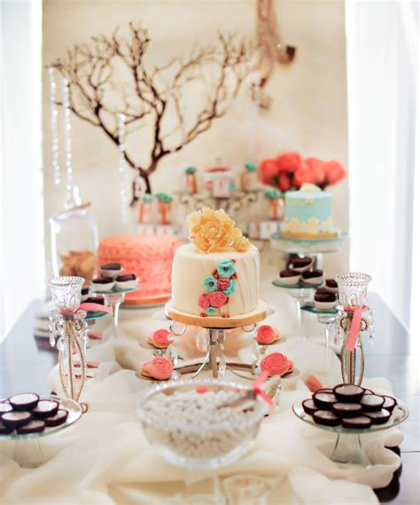 quot tres shabby chic quot baby shower brunch hostess with the mostess 174
