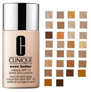 clinique even better makeup color chart best liquid foundations