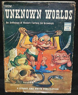 From Unknown Worlds Hardcover De Camp Kutter Bloch