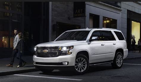 chevrolet tahoe redesign release date review   chevy