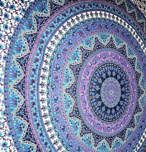 large indian hippie mandala tapestry psychedelic wall large indian mandala tapestry hippie hippy wall hanging