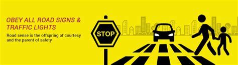 printable road safety banner rto