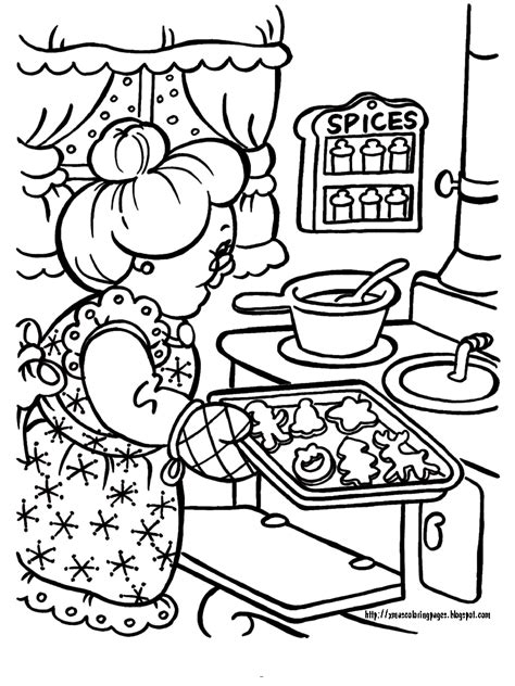 coloring pictures of santa and mrs claus xmas coloring pages