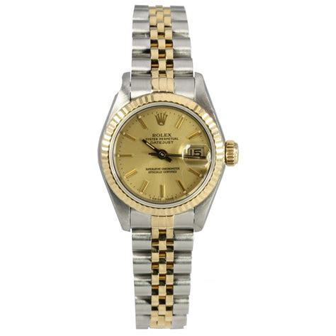 Rolex Pre Owned Ladies Oyster Perpetual Datejust 69173