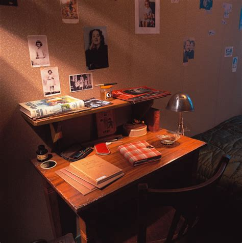 anne franks bedroom the prescient poem 10 year old anne frank penned in her