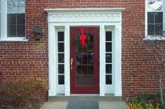 Colonial Style Front Doors 1000 Images About Homes On Front Door Trims Colonial Style Homes And Front Doors