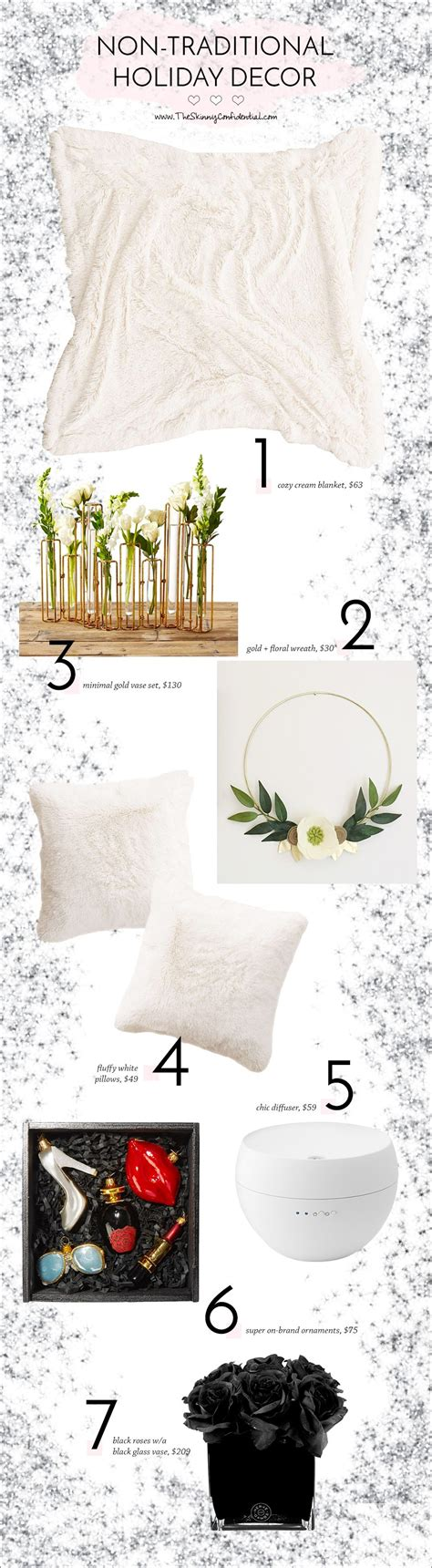 non traditional holiday decor the skinny confidential