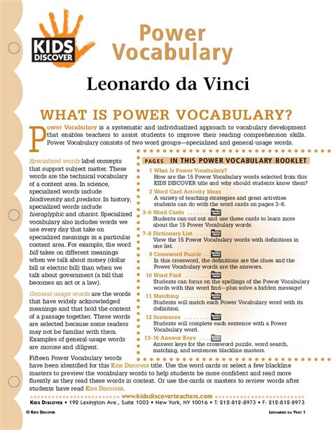 leonardo da vinci biography for students leonardo da vinci kids discover