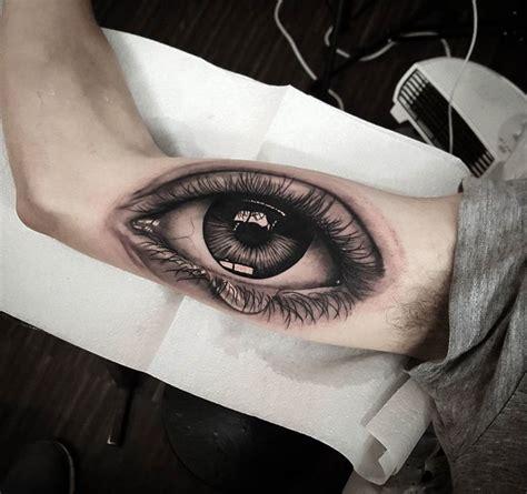 eye tattoo forearm realistic eye guys inner arm pinterest realistic eye