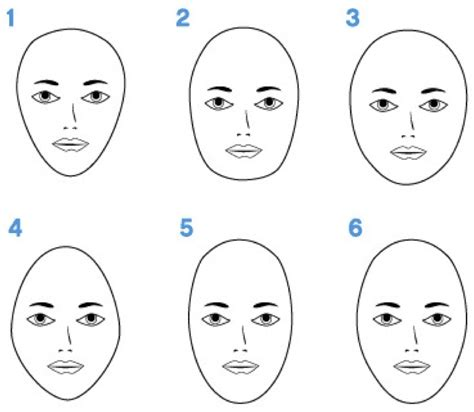 oblong face shape with big nose how to measure to determine your face shape