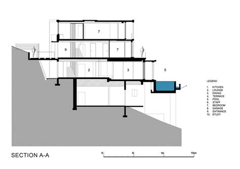 section drawing architecture modern architecture drawing modern house reaching out to