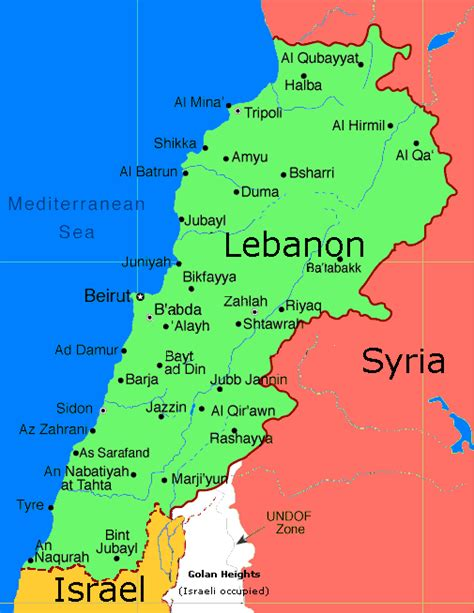 map of lebanon deir el amar takemetolebanon
