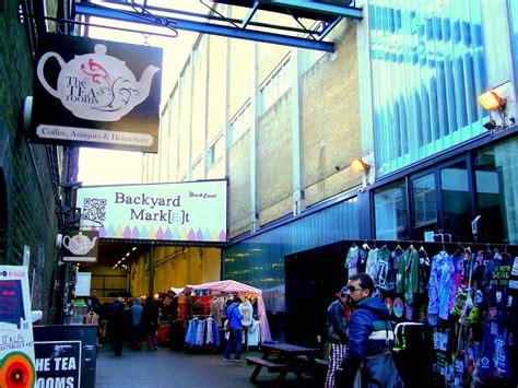 backyard market brick lane the tea rooms en brick lane london backyard market the