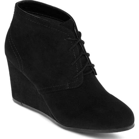 1000 ideas about black wedge ankle boots on