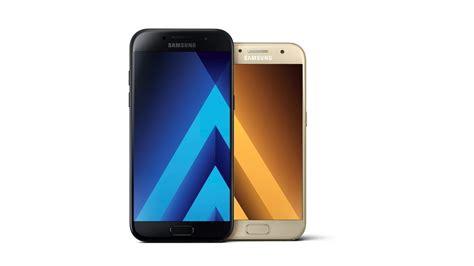 samsung galaxy a5 und a3 wasserdichte smartphones mit amoled display heise