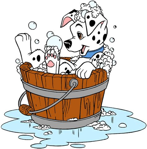 puppies taking a bath 101 dalmatians puppies clip 2 disney clip galore