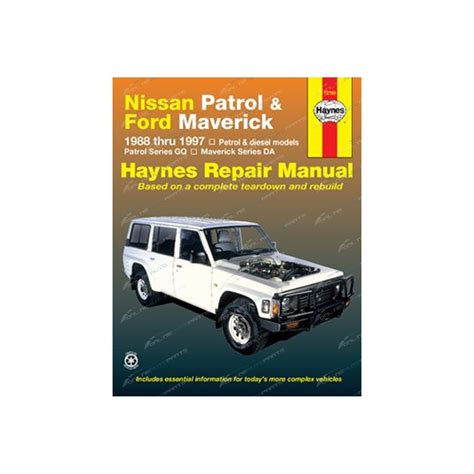 service manual books about cars and how they work 2002 porsche 911 on board diagnostic system haynes car repair manual book for nissan patrol gq gr y60 petrol diesel engine incl safari