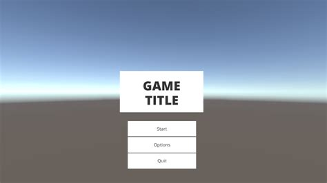 unity template free jam menu template in unity 5 ludum
