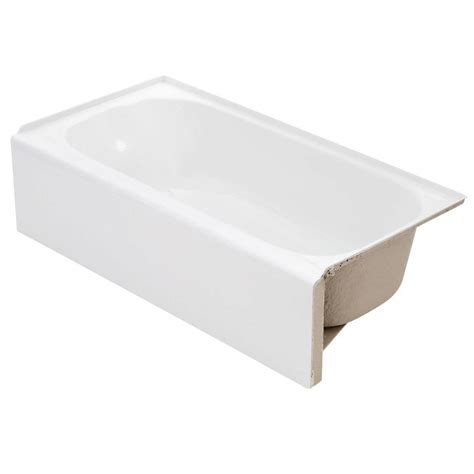 lyons industries bathtubs lyons industries victory 4 5 ft right drain soaking tub