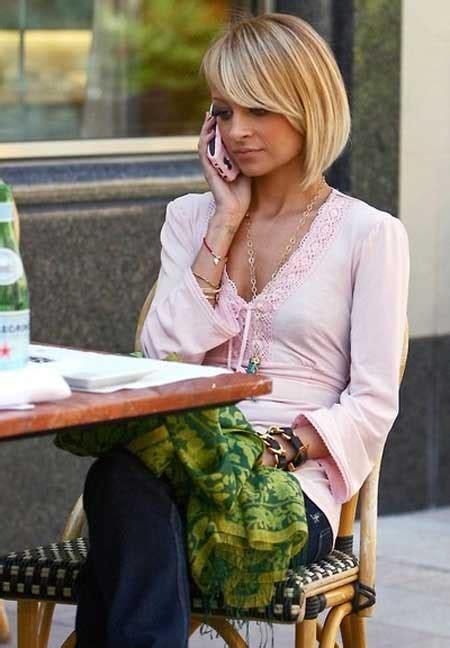 nicole richie blonde bob latest celebrity short hairstyles 2014 short hairstyles