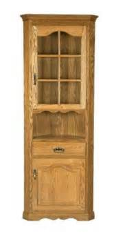 corner kitchen hutch furniture corner hutches amish corner hutch cabinet by dutchcrafters page 2