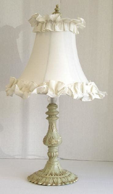 French Chandelier Shades Shabby Chic Table Lamps French Country Amp Shabby Chic