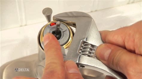 how to replace a delta kitchen faucet how to replace delta diamond seal technology cartridges