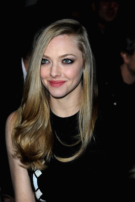 amanda seyfried kavanaugh amanda seyfried photos photos givenchy front row pfw