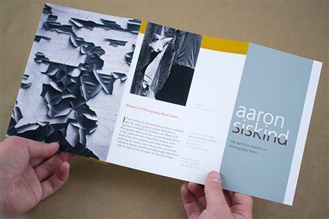design brief brochure aaron siskind brochure on behance