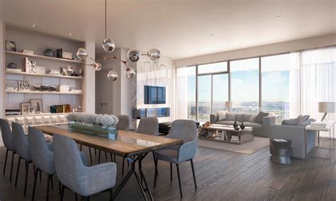 Modern Dining Room Sets On Sale the best luxury condos in toronto with suites between