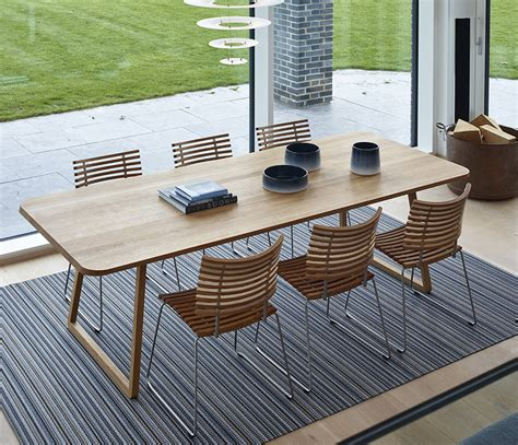 modern rectangular dining table dm3600 wharfside - Glass Top Esszimmer Tische Rechteckig