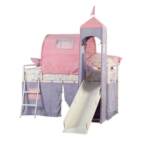 princess loft bed powell furniture princess castle metal loft bed with
