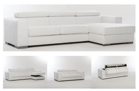 letto in pelle con contenitore divano letto in pelle spessorata con contenitore divani