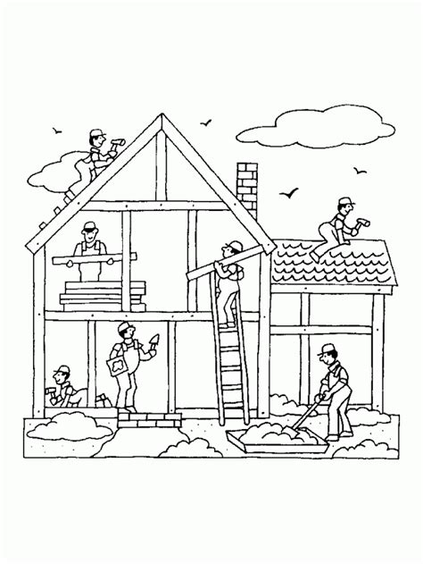 Building Coloring Pages For Kids Coloring Pages 209594 Build A Coloring Pages