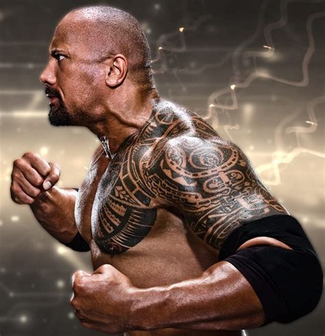 dwayne johnson tattoo and meaning 10 most popular male celebrities with tattoo design