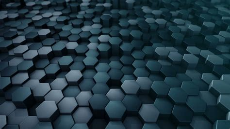 glowing hexagonal tiles abstract moving background