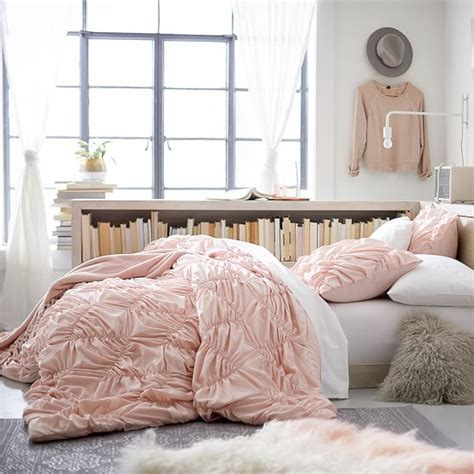 light pink and grey bedding whimsical waves comforter sham pbteen