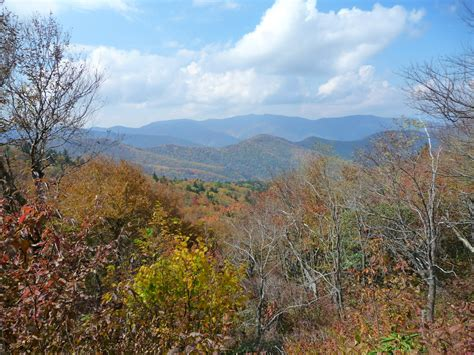 trail to cold mountain from shining rock and black balsam